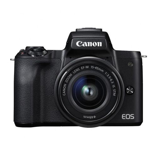 Фотоаппарат Canon EOS M50 Kit EF-M15-45 IS STM Black