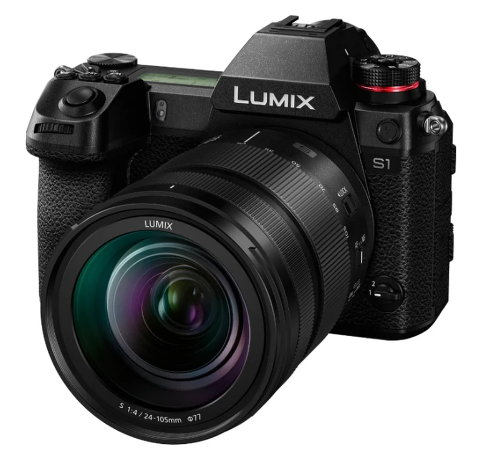 Фотоаппарат Panasonic Lumix DC-S1 Kit SR 24-105mm (Английское меню)