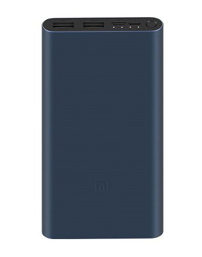 Внешний аккумулятор Xiaomi Mi Power Bank 3 10000 mAh (PLM13ZM) VXN4260CN Black