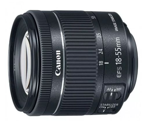 Объектив Canon EF-S 18-55mm f/4-5.6 IS STM White Box