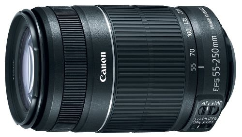 Объектив Canon EF-S 55-250mm f/4-5.6 IS STM White Box