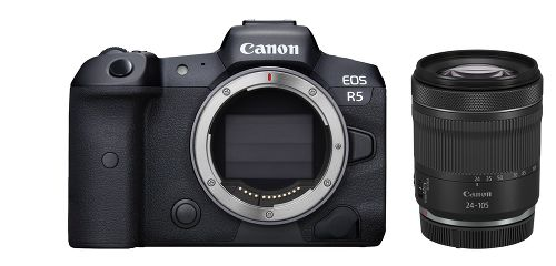 Фотоаппарат Canon EOS R5 Kit RF 24-105 F4 L IS USM