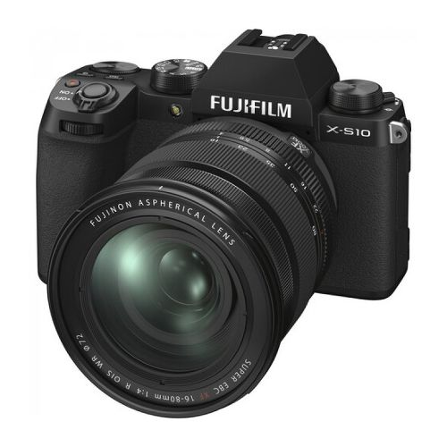 Фотоаппарат Fujifilm X-S10 Kit XF 16-80mm F4 R OIS WR Black